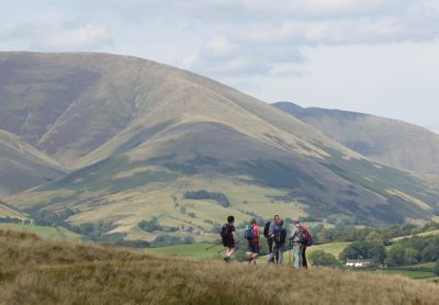Approaching the Howgill Fells
