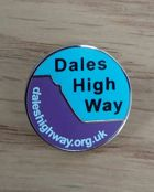 Dales High Way Lapel Badge thumbprint