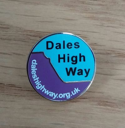 Dales High Way Lapel Badge