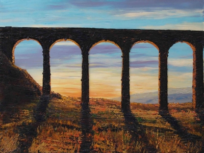 Ribblehead Viaduct at Sunset - David Starley
