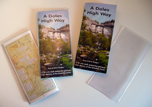 A Dales High Way book comes with weather-resistant plastic wallets