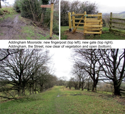 Trail improvements above Addingham