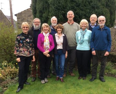 Baildon Walkers are Welcome committee 2017