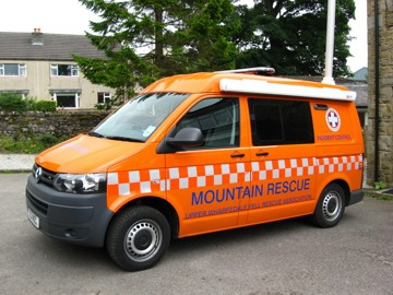 Upper Wharfedale Fell Rescue Teams new Incident Control Vehicle