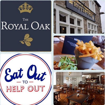 Eat Out to help Out offers include the Royal Oak in Settle