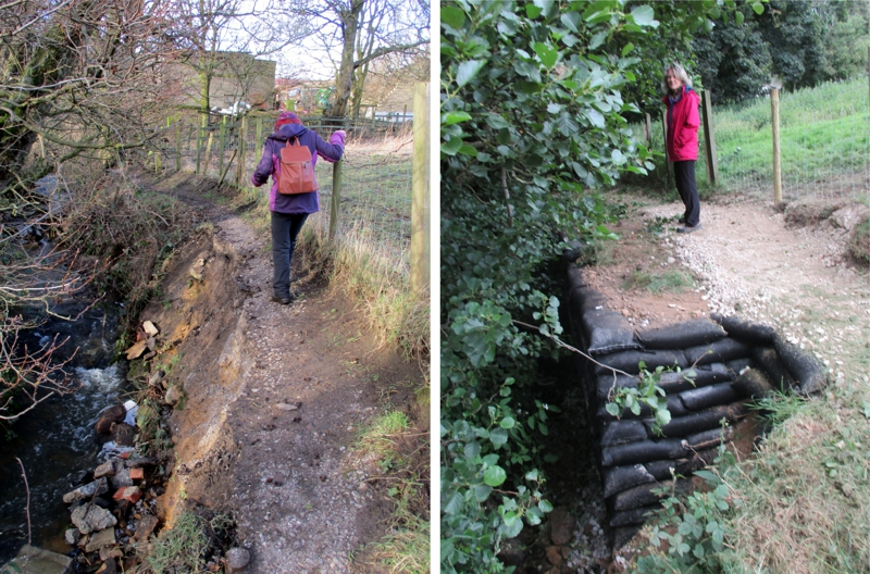 Glovershaw Beck path repairs