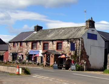 The New Inn, Hoff, in better days