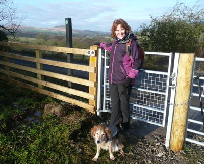 New gate onto Brackenley Lane