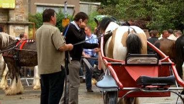 Clip of Appleby Horse Fair from ITV's The Lakes