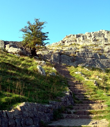 Steps besides Malham Cove. Photo: Almostailsa