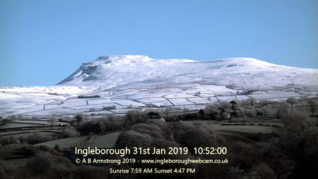 Ingleborough webcam jan 2019