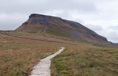 Pen-y-ghent approach from Stainforth