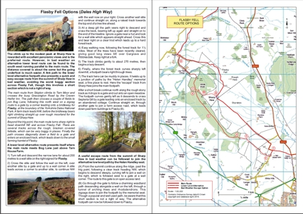 Flasby Fell Route Options download